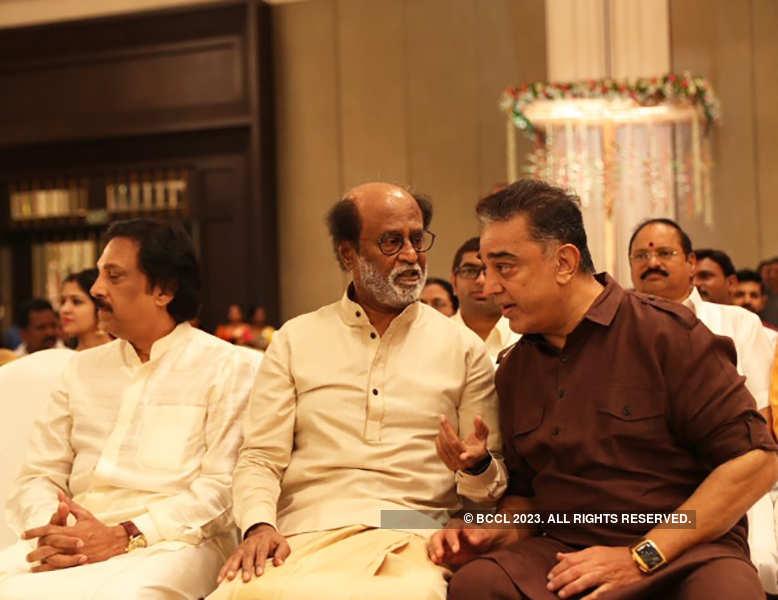 Inside pictures from Soundarya Rajinikanth's starry wedding reception