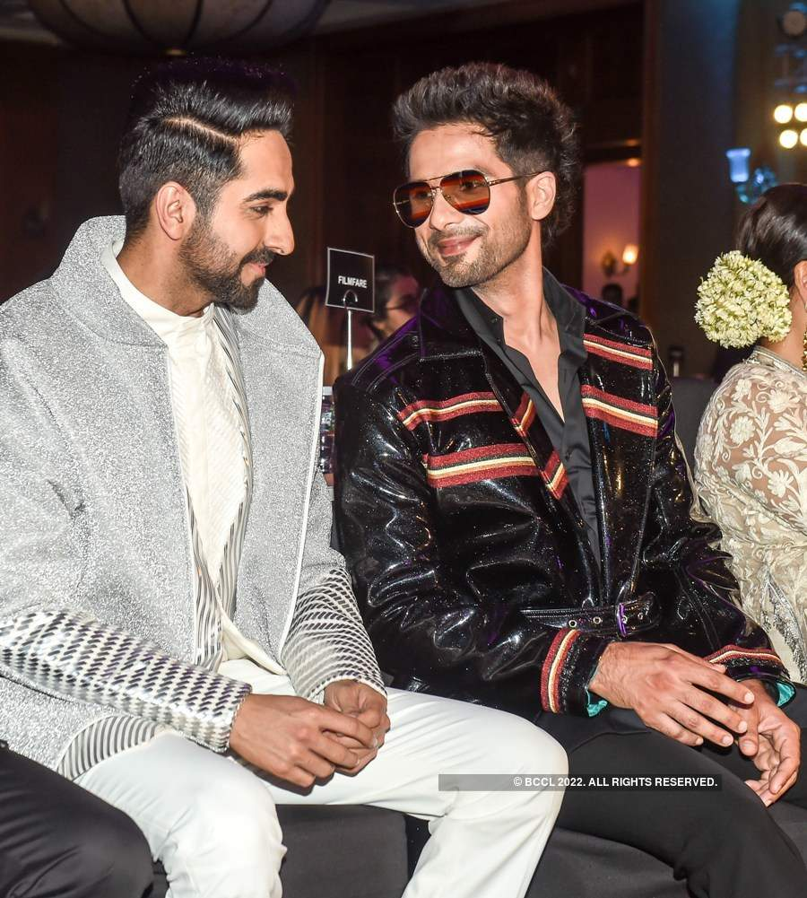 Filmfare Glamour & Style Awards 2019: Candid Photos
