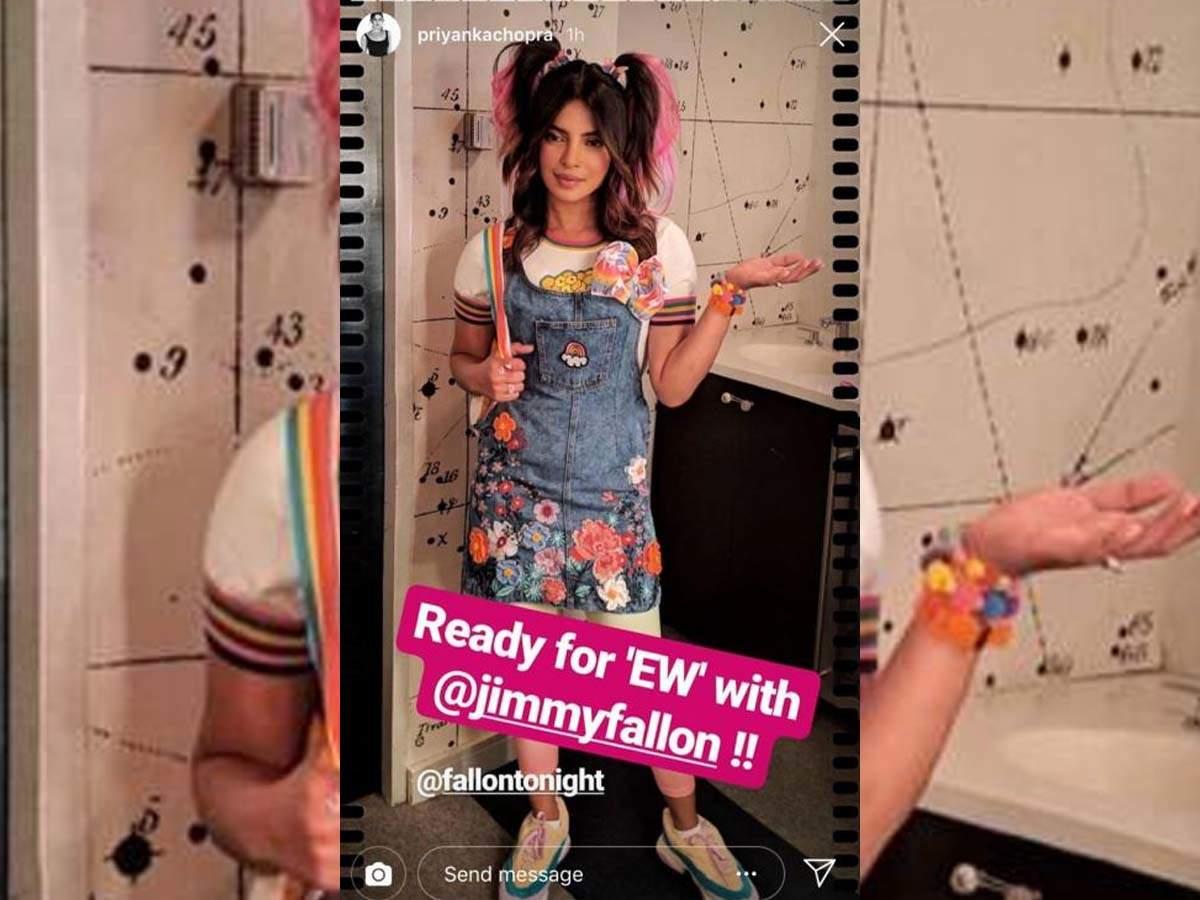 Photo: Priyanka Chopra dons a cute girl avatar