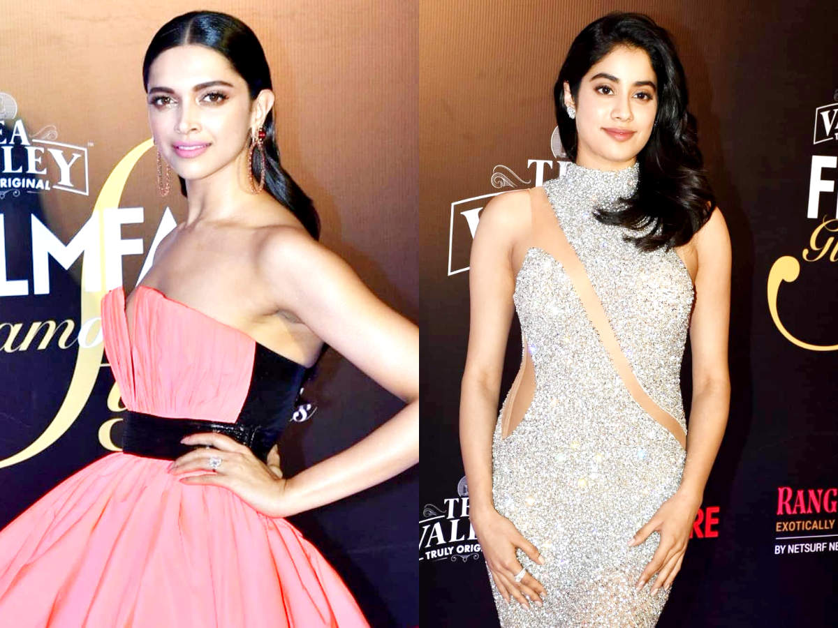 3db718783295 From Deepika Padukone to Janhvi Kapoor  Who wore what at Filmfare Glamour and  Style Awards 2019