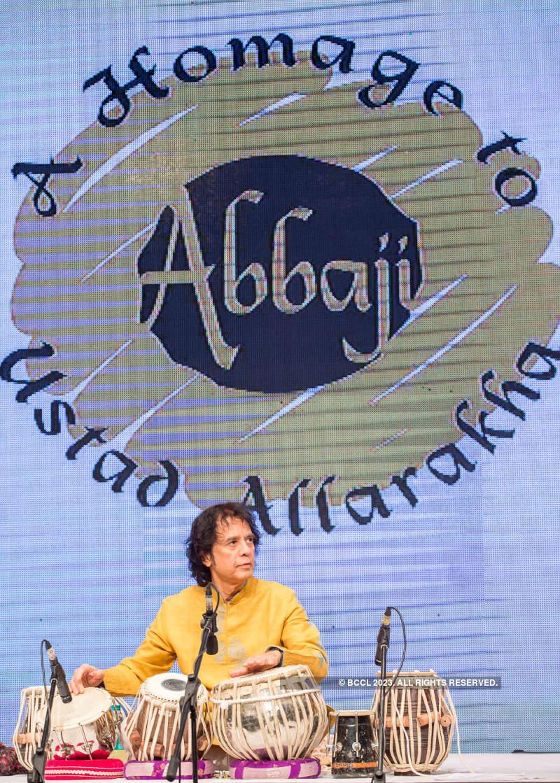 A Homage to Abbaji: Concert