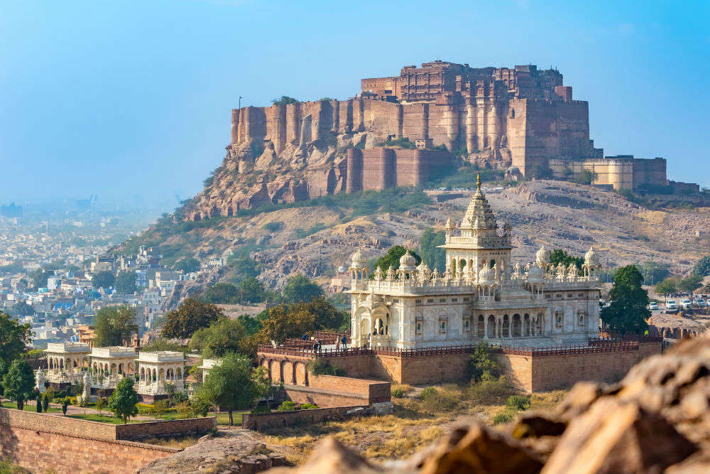 The Story Of Mehrangarh Fort And Its Curse Times Of India Travel
