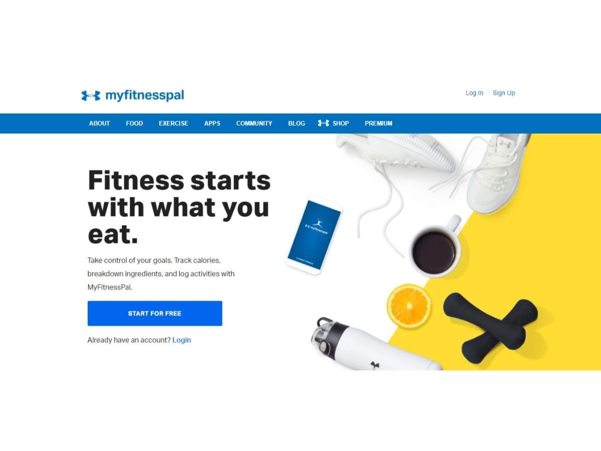 MyFitnessPal (www myfitnesspal com) (151 million details) | Gadgets Now