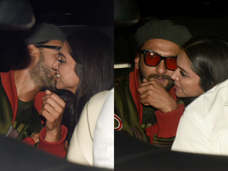 Ranveer Singh And Deepika Padukone's Cute Pda Will Melt Your Hearts Right Away!