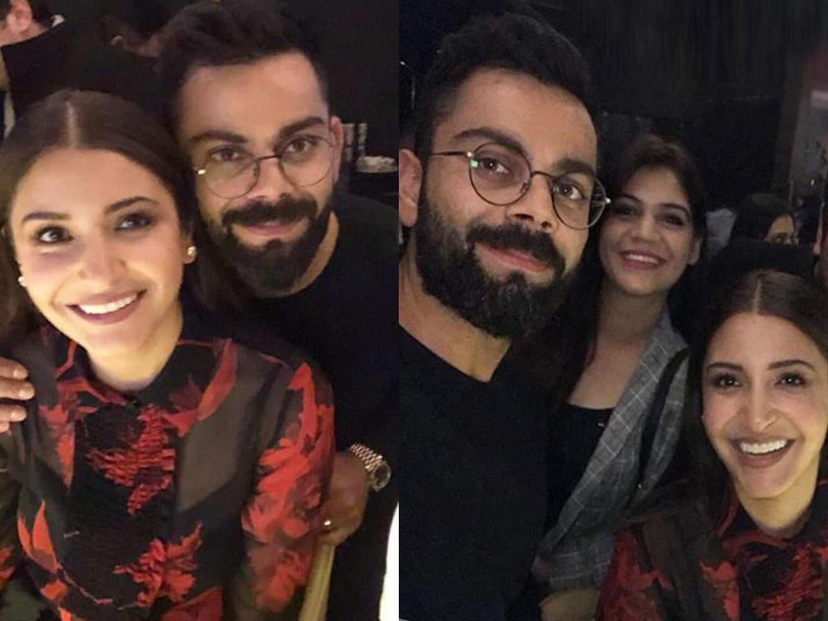 Anushka Sharma And Virat Kohli Kick Off Valentine's Day Celebrations With A Dinner Date