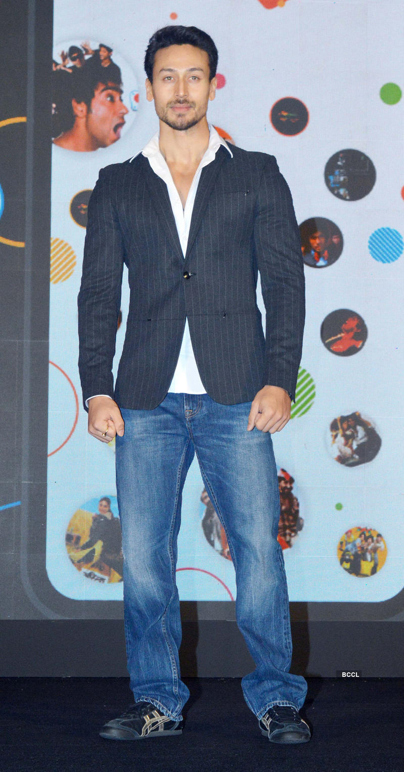 Tiger Shroff launches an app