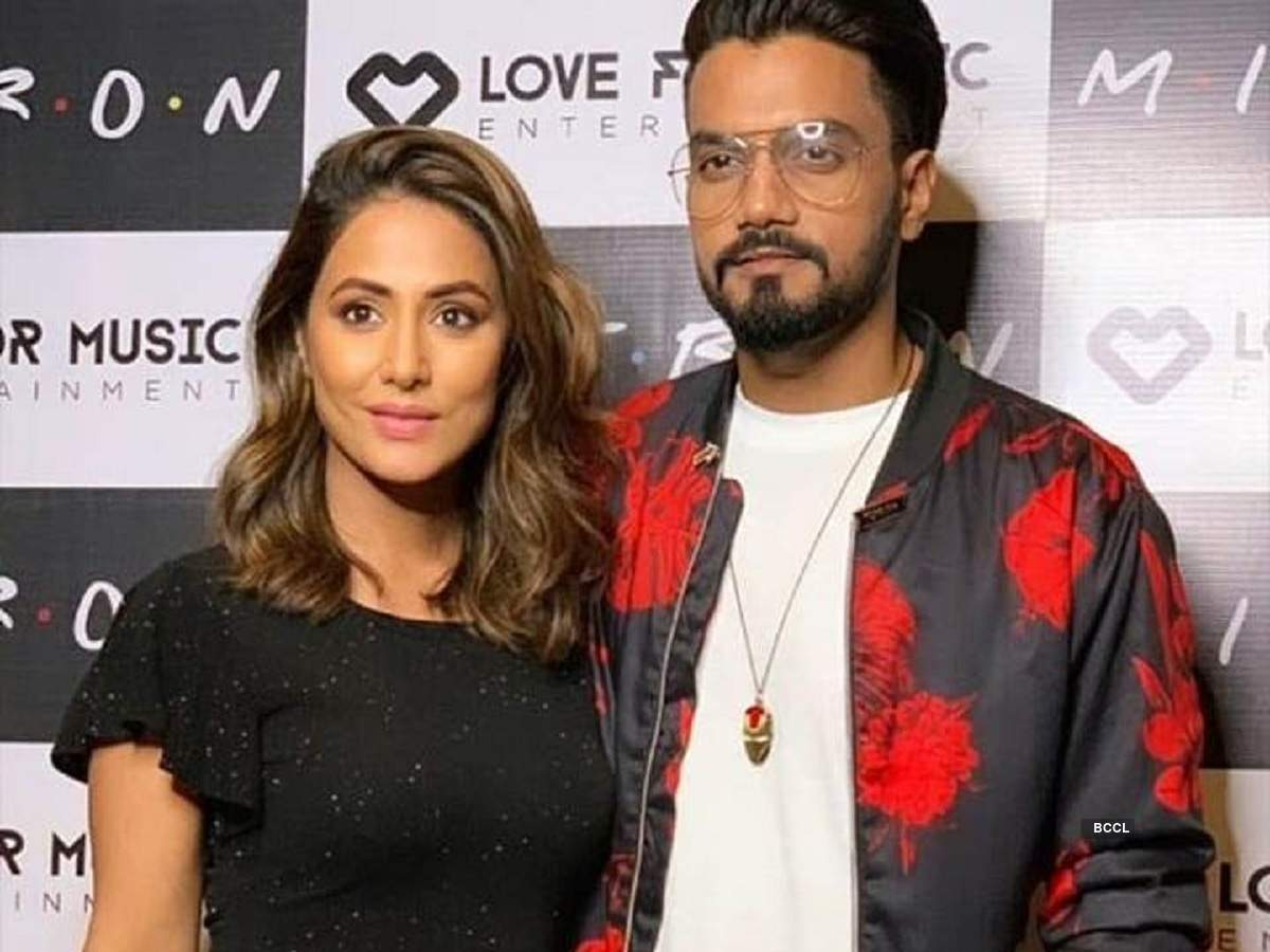 Valentines Day Is All The More Special For Kasautii Zindagii Kays Hina Khan As Her Boyfriend Rocky Jaiswals Birthday Falls On The Same Day