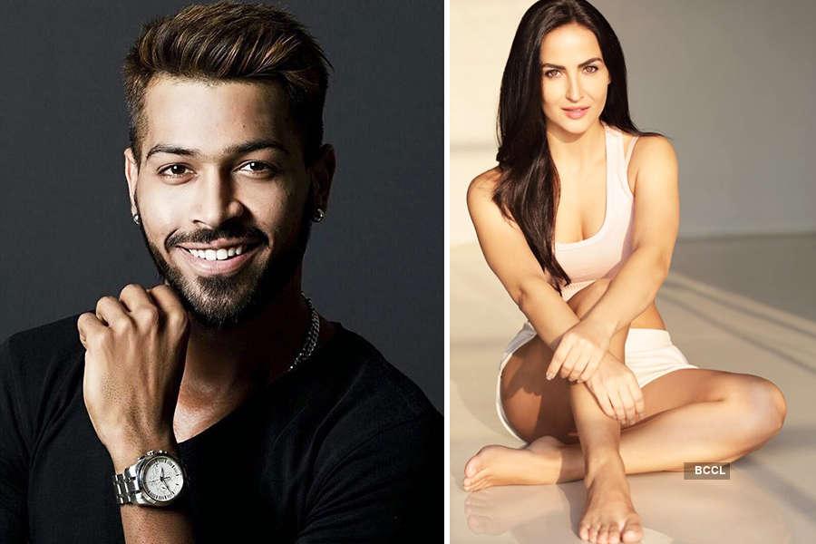 Elli AvrRam blasts a news channel for spreading rumours about wedding with Hardik Pandya