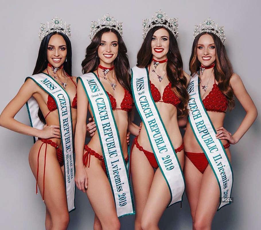Andrea Prchalova crowned Miss International Czech Republic 2019