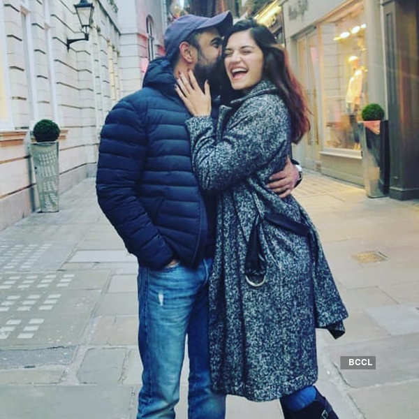 Romantic photos of Amit Sadh & his gorgeous girlfriend Annabel DaSilva
