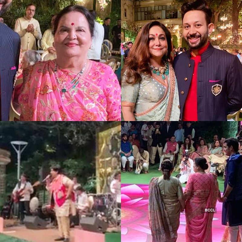 Akash Ambani-Shloka Mehta's wedding celebrations begin with Falguni Pathak's special performance