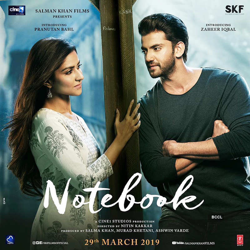 Zaheer Iqbal and Pranutan Bahl in Notebook