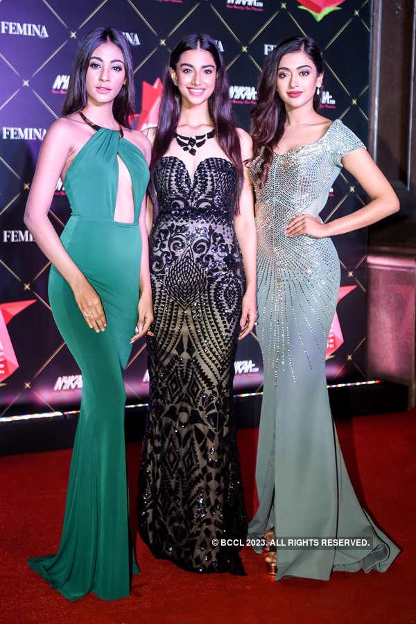 Beauty queens rock the red carpet of Nykaa Femina Beauty Awards