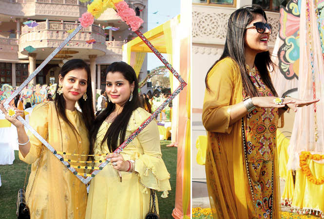 (L) Mrisha Sarin and Smriti Seth (R) Nancy (BCCL/ Arvind Kumar)
