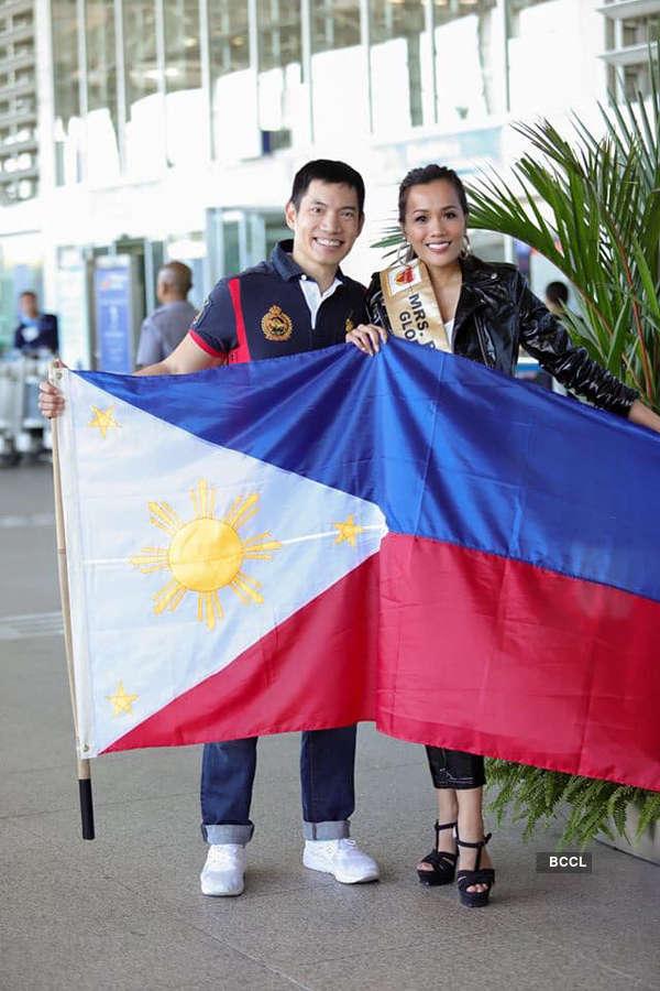 Mrs. Global Universe Philippines Irene Bigornia Montemayor advocates 'Dress for Success'