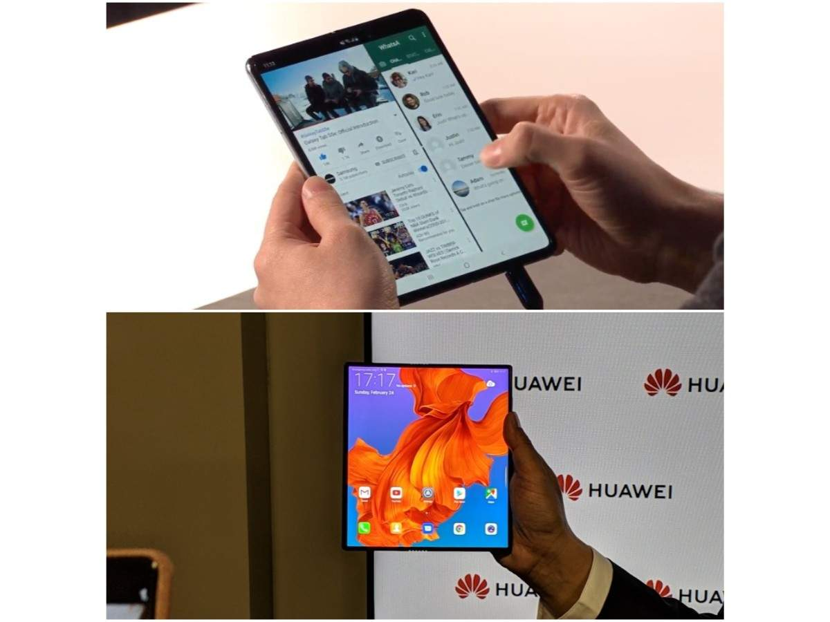 Huawei Mate X vs Samsung Galaxy Fold: How the two foldable smartphones compare