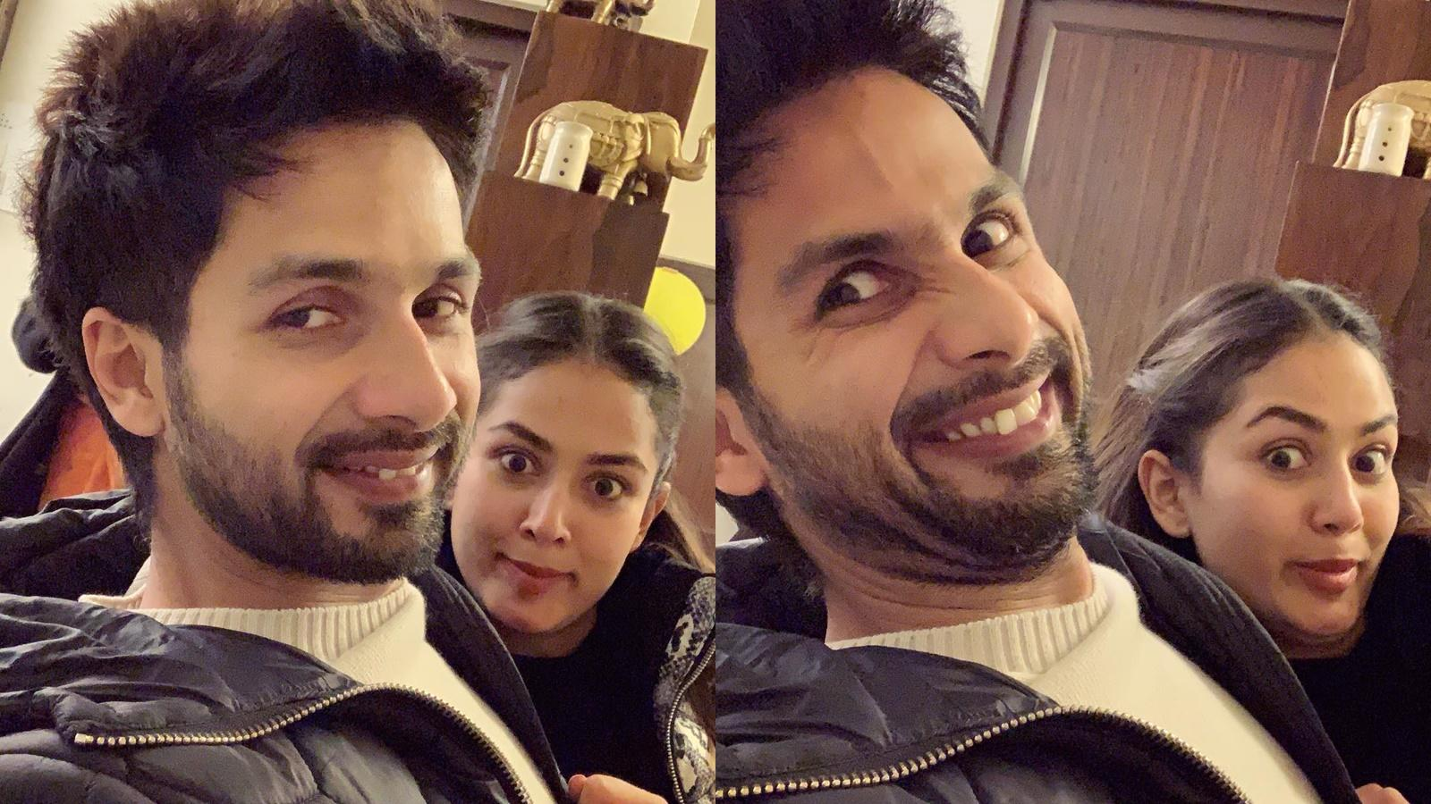 Shahid Kapoor's quirky birthday celebration with wife Mira Rajput