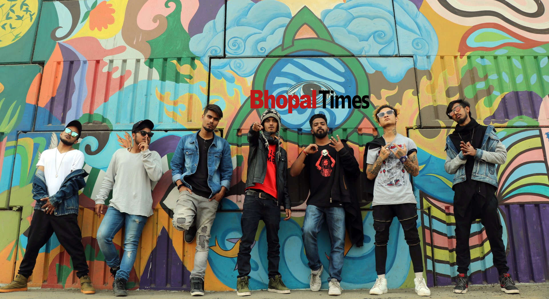 Budding rappers of Bhopal