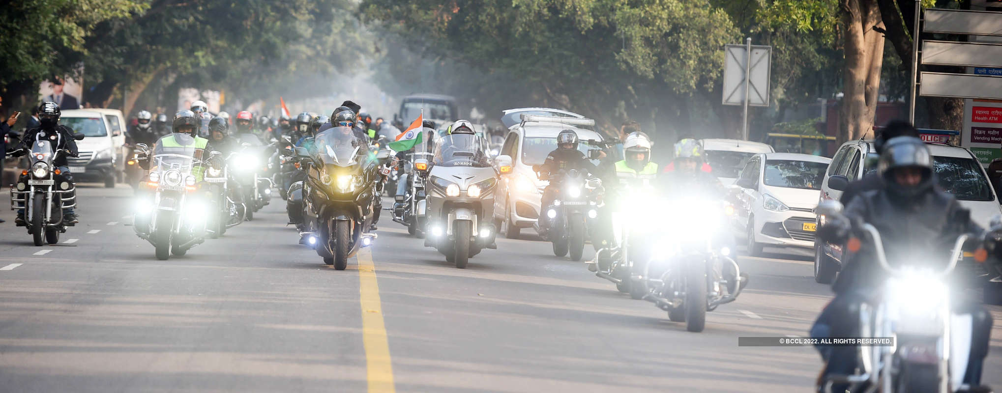 Superbikers pay tribute to Pulwama attack martyrs