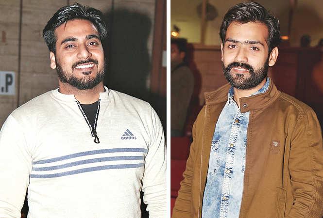 (L) Puneet Shukla (R) Ravi Sharma (BCCL/ Aditya Yadav)