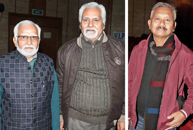 (L) Devendra and Swatantra (R) Pradeep Ghose (BCCL/ Aditya Yadav)