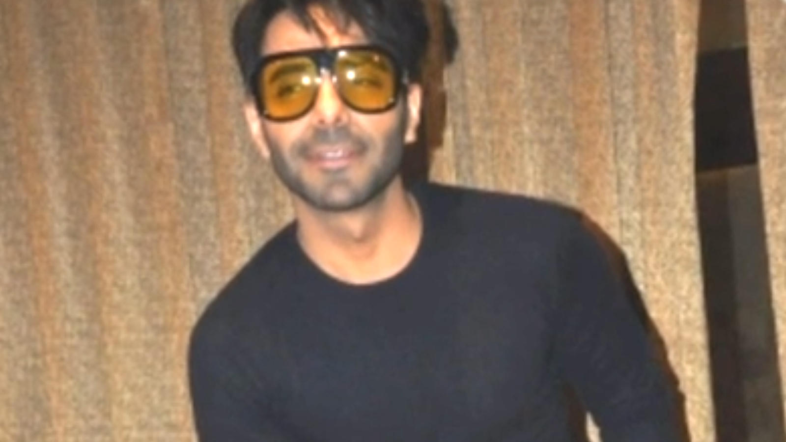 Actor Aparshakti Khurana shoots for a movie in Kanpur
