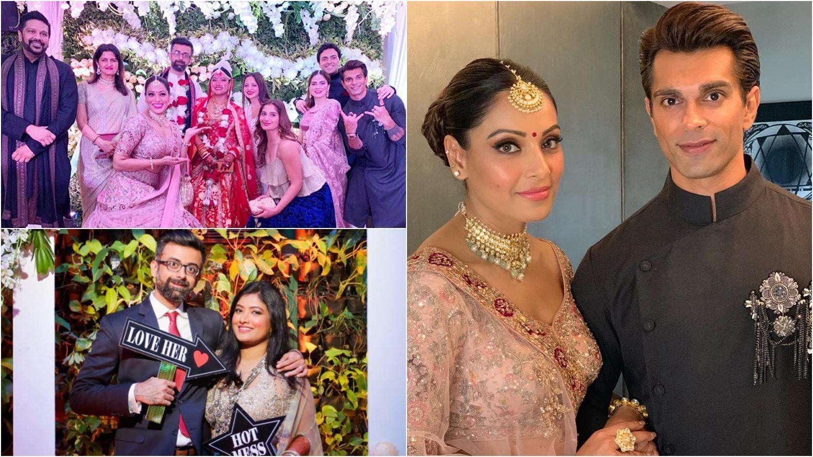 Bipasha Basu shares beautiful pictures from younger sister Vijayeta Basu's intimate wedding celebrations