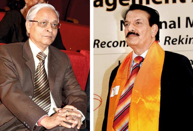 (L) HP Mathur (R) Prof GK Singh (BCCL/ Arvind Kumar)