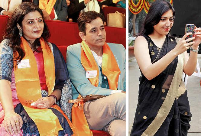 (L) Rachna and Sharad Mehra (R) Reetu (BCCL/ Arvind Kumar)