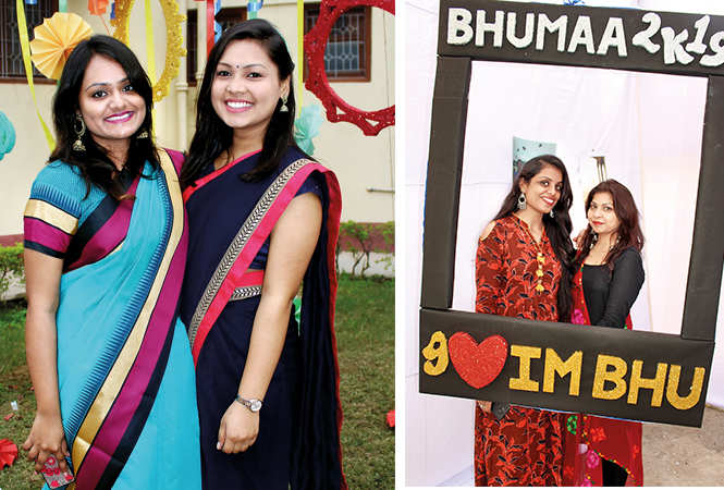 (L) Ishita and Yoshika (R) Kritika and Rachna (BCCL/ Arvind Kumar)