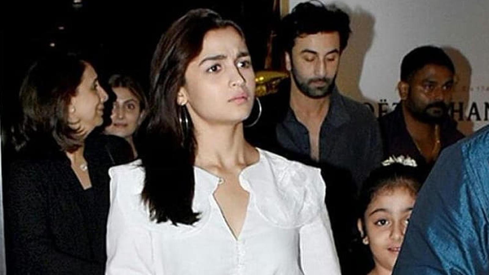 Alia Bhatt refuses to work with Ranbir Kapoor?