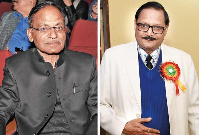 (L) BN Ojha (R) Prabhat Kumar Bose (BCCL/ Farhan Ahmad Siddiqui)