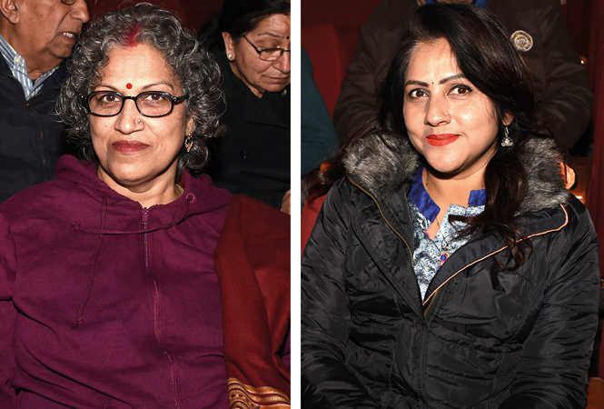 (L) Radha Singh (R) Rakhi Jaiswal (BCCL/ Farhan Ahmad Siddiqui)