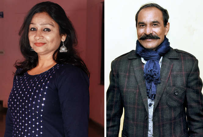 (L) Vanana Bajpai (R) Akash Pandey (BCCL/ Farhan Ahmad Siddiqui)