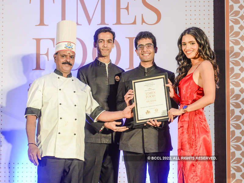 Pageant winners at Times Food and Nightlife Awards 2019