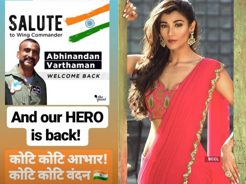 Beauty queens applaud Abhinandan Vardhaman