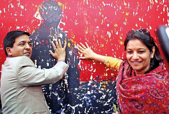 Ashish and Saloni Goel (BCCL/ Pankaj Singh)
