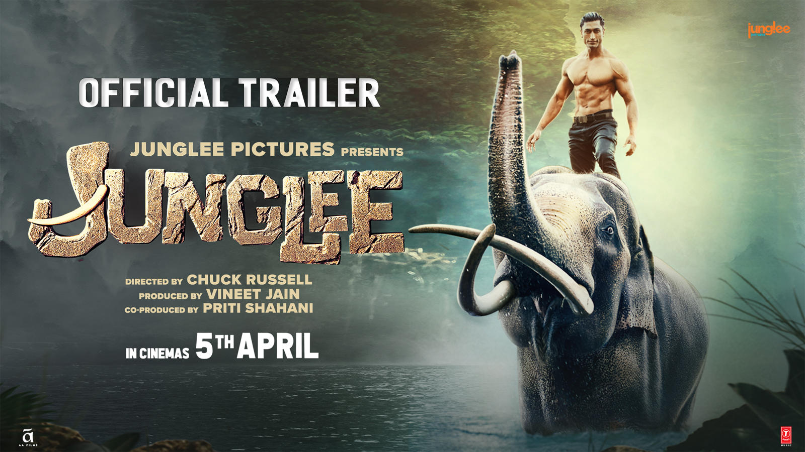 'Junglee' Official Trailer | Vidyut Jammwal, Pooja Sawant, Asha Bhat | Directed by Chuck Russell | 5th April 19