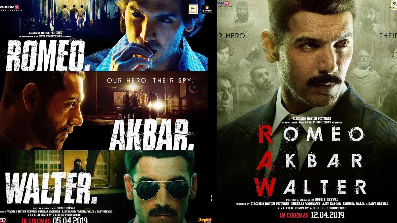 Romeo, Akbar, Walter trailer: John Abraham looks promising as a patriotic spy
