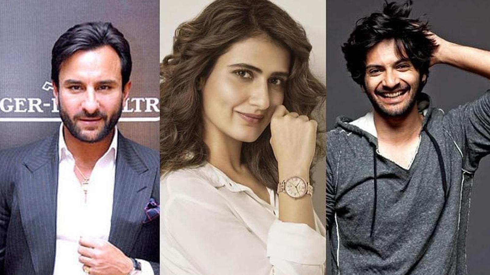 Saif Ali Khan, Fatima Sana Shaikh and Ali Fazal in horror-comedy 'Bhoot Police'