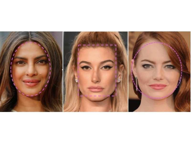 01/7Determine your face shape to select the best hairstyle for yourself