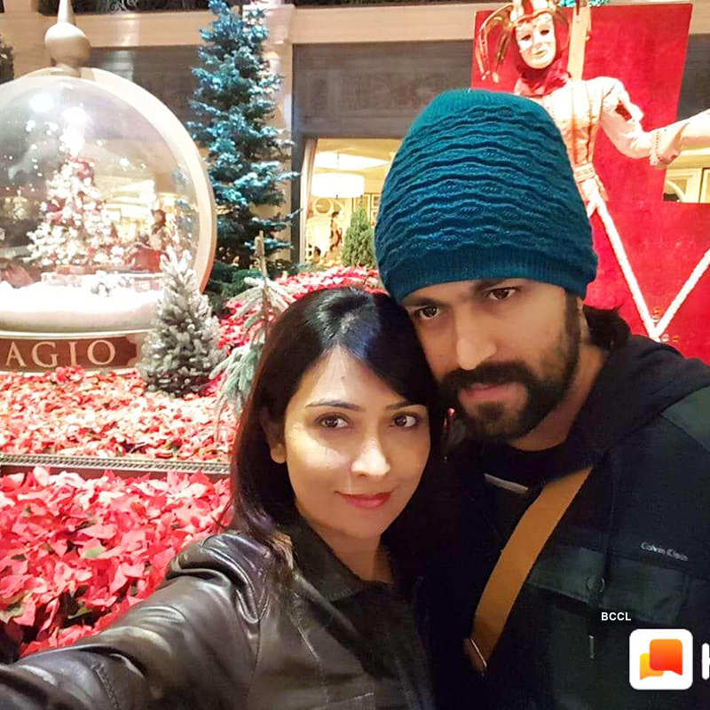 Radhika Pandit and Yash reveal the name of their baby girl