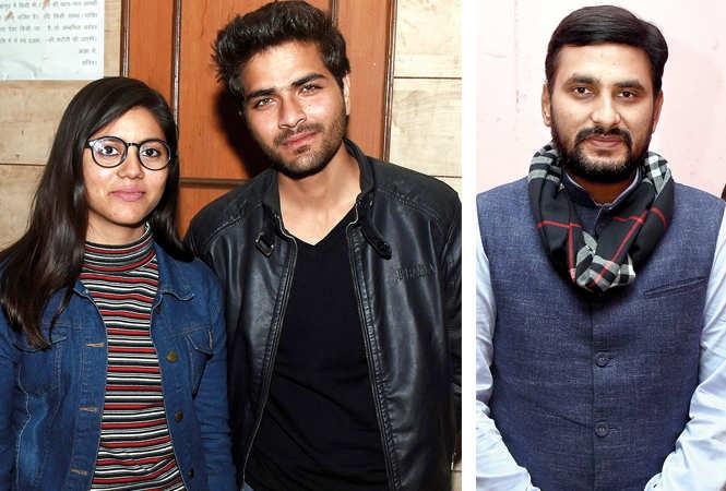 (L) Apurva Singh and Mohit Pandey (R) Niraj Singh (BCCL/ Vishnu Jaiswal)