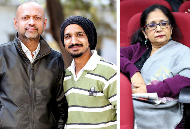(L) Darvesh and Raza (R) Nupur Basu (BCCL/ Aditya Yadav)