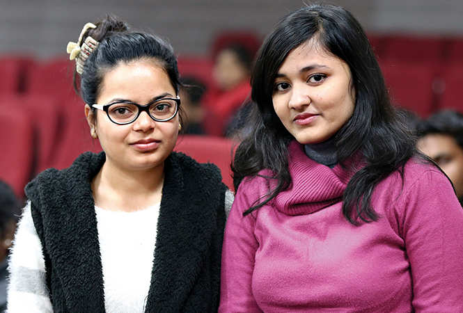 Prashansa (L) and Gitali (BCCL/ Aditya Yadav)