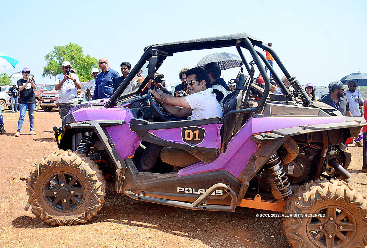 Sachin Tendulkar attends the 'Bad Road Buddies' event