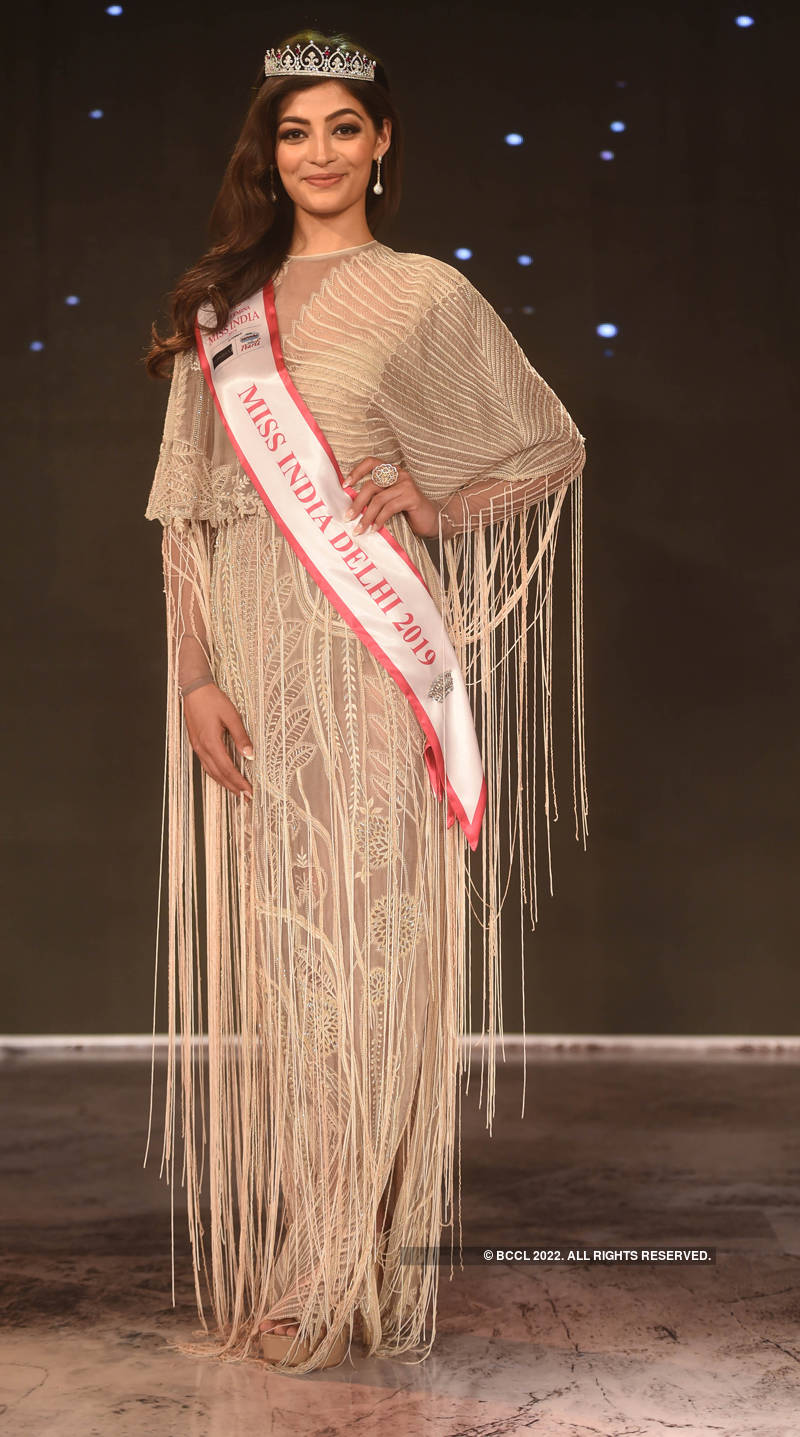 Miss India North 2019: Crowning Moments