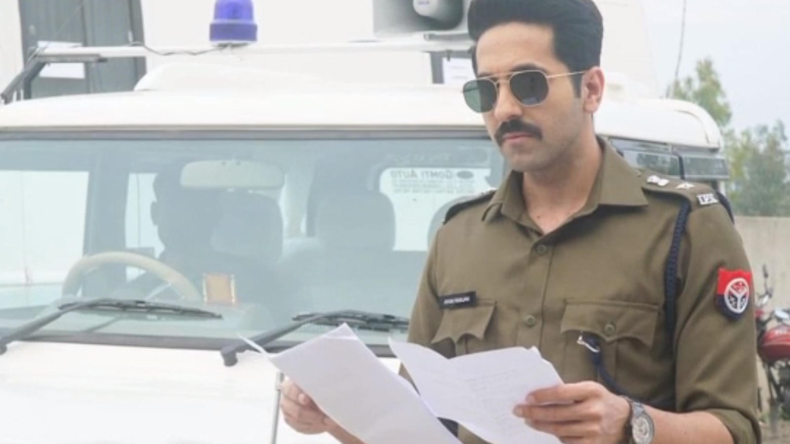 'Article 15' first look: Ayushmann Khurrana as police officer Anubhav Sinha