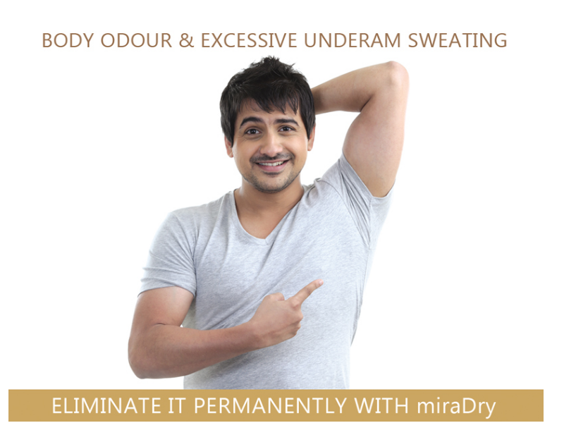 New Technology Can Eliminate Excessive Underarm Sweat & Body