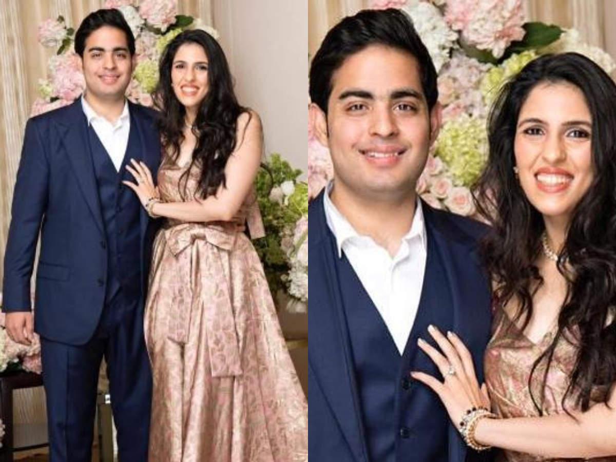 Akash Ambani and Shloka Mehta wedding photos, images